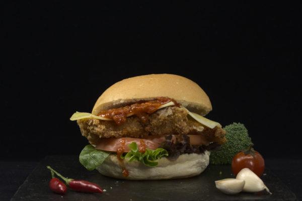 Chicken Parma Burger
