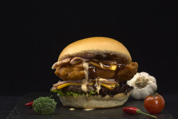Double Delight Burger