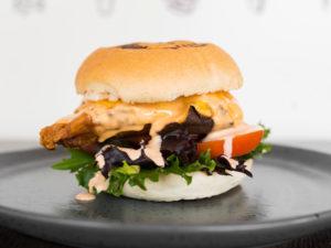 New Orleans Fried Chicken Burger